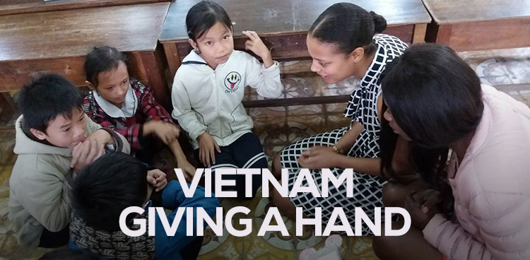 Vietnam - Giving a hand