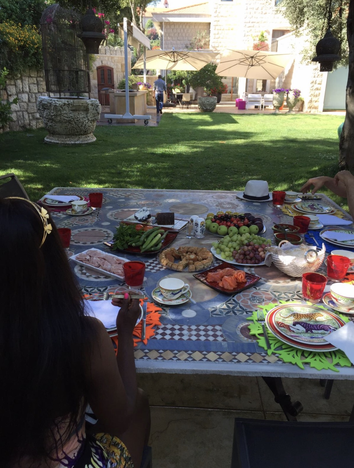 A feast of traditional Delicious Lebanese cuisine for breakfast by ysclife.com